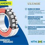 Lançamento NTN: Rolamento Autocompensador Vedado