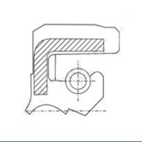 RETENTOR 019X037X6.5/9.0 BABSL NBR i0140