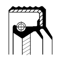 RETENTOR 027.7X056X010 BASLRDX67 ACM (07011906B)
